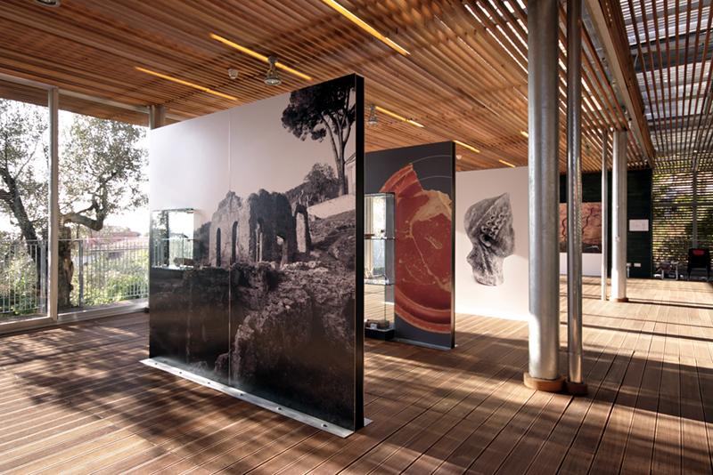 Il Museo: dettaglio dell'interno