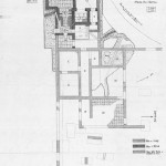 Pianta delle strutture messe in luce con i primi scavi (1931-1932)