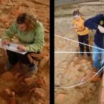 Fase di documentazione: rilievo e disegno delle unità stratigrafiche