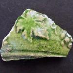 Frammento di ceramica invetriata di età imperiale